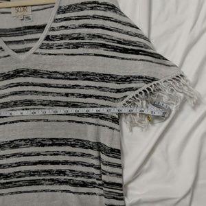 Chaser Dresses - CHASER Striped Shirt Dress